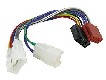 XtremeAuto® ISO Stereo Wiring adapter harness. For use with aftermarket on