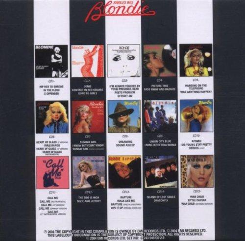Blondie Singles Box