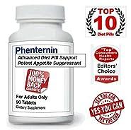 Phenternin Top Weight Loss Diet Pills Appetite Suppressants Lose Weight DietPills Supplement USA for Women & Men