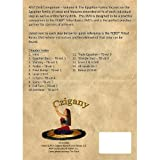 ATS Drill Companion Volume 4 - The Egyptian Family - Belly Dance Instructional - American Tribal Style
