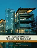 img - for Construction Materials, Methods and Techniques: Building for a Sustainable Future 3rd Edition by Spence, William P.; Kultermann, Eva published by Delmar Cengage Learning Hardcover book / textbook / text book