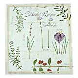 Meadowsweet Kitchens Recipe Card Cookbook Organizer-Botanical Treasures