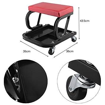 Generic - Taburete de taller para coche, furgoneta, carrito ...