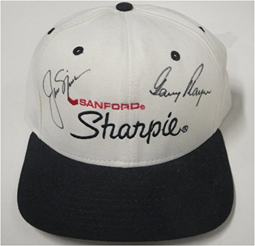 (Jack Nicklaus Gary Player Dual Hand Signed Autographed Sharpie Hat JSA)
