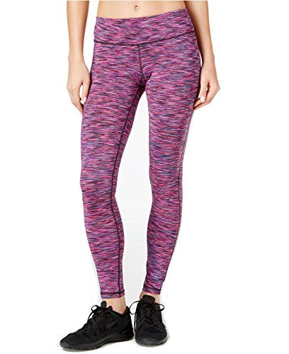 Ideology Womens Space-Dyed Training Leggings (Small, Holiday Multi) by Ideology