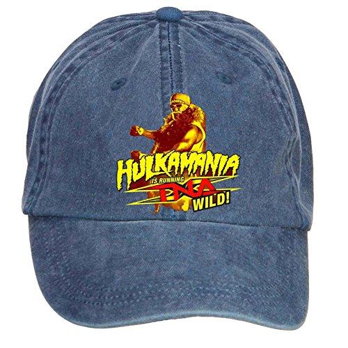 Tommery Unisex Hulk Hogan Hip Hop Baseball Caps (Hogan Hat)