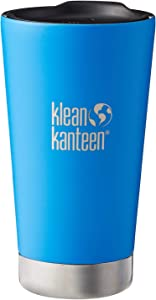 Klean Kanteen Double Wall Vacuum Insulated Stainless Steel Tumbler Cup with Tumbler Lid