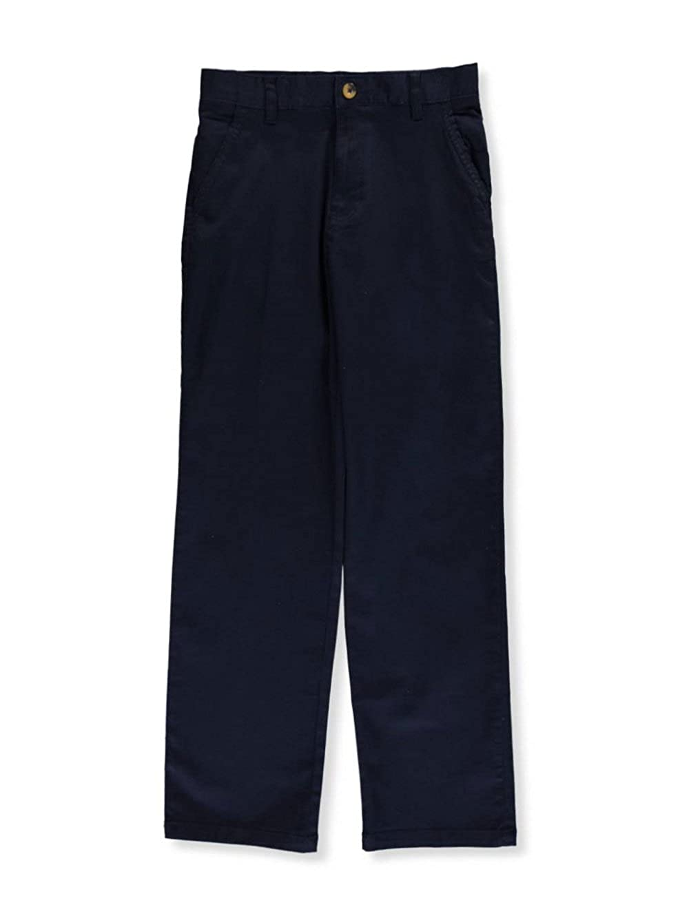 Navy French Toast Big Boys Twill Straight Fit Chino Pants 18