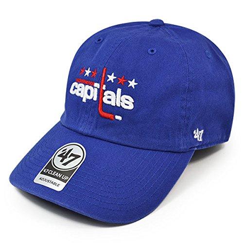 47brand Washington Capitals Vintage Cleanup Cap Adjustable NHL 89013557846