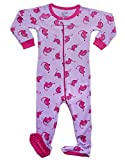 Leveret Dino Pink Footed Pajama 4 Years