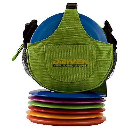 Kiwi Green Slingshot Disc Golf Bag by Driven (Bag only, Discs Sold Seperately)