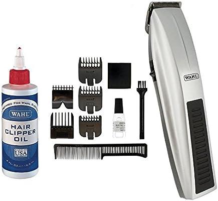 Wahl 5537 – 217 batería Alimentado por Performer de pelo trimmer afeitadora con extra Free Elección 3310 Lubricante: Amazon.es: Salud y cuidado personal