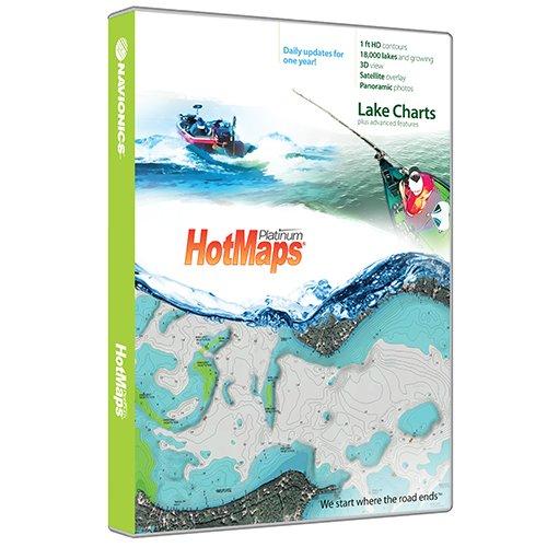 Image of Navionics Hotmaps Platinum Lake Maps South On Sd/Micro Sd