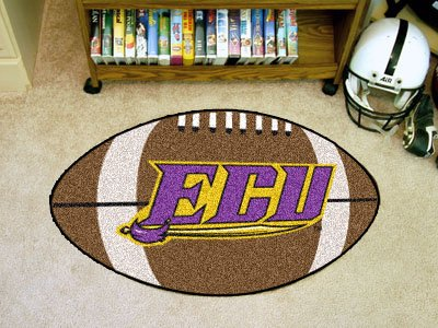East Carolina University Football Rug (Fanmats East Carolina University)