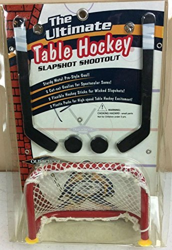 The Ultimate Table Hockey Slapshot Shootout