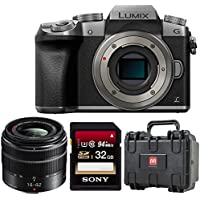Panasonic LUMIX DMC-G7KS DSLM Mirrorless 4K Camera (Silver) with 14-42 mm Lens Kit