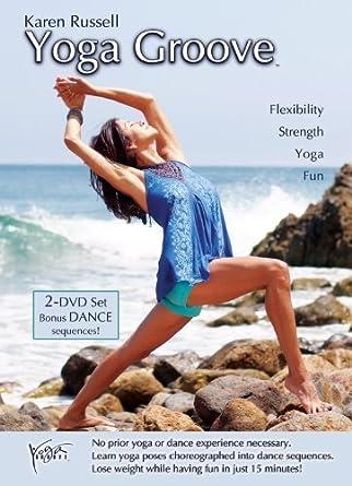 Amazon.com: Yoga Groove Double DVD Set [HD DVD] by Karen ...