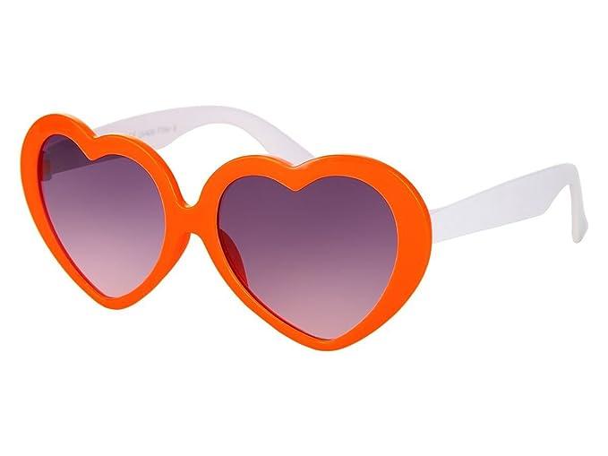 XINMADE Herz verschiedene Kinder UV400 Sonnenbrillen für Jungen und Mädchen Alter 3-10 (Magenta-weiß) Db96xr5
