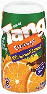 Tang Drink Mix, Orange, 31.7-Ounce Canisters (Pack of 6)