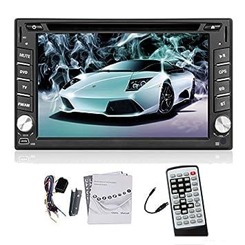 DVD MEJOR GPS DVD del coche universal de Bluetooth del jugador de llamadas del volante iPod