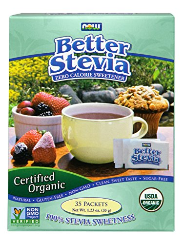 NOW Foods Organic BetterStevia,35 Packets