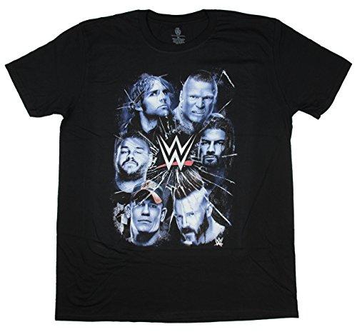 (WWE Brock Lesnar John Cena Graphic T-Shirt - X-Large)