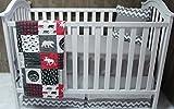 Baby Boy / Girl Chevron , Baby Bedding , Woodlands , Moose , Crib Bedding , Nursery Room , Babylooms
