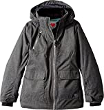 Obermeyer Kids Girl's June Jacket (Little Kids/Big Kids) Light Heather Grey Large