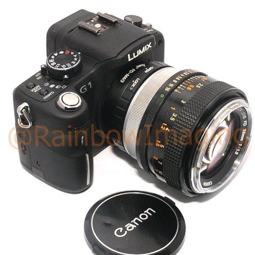 Fotasy AMFD Canon FD FL Lens to Micro Four Thirds M43 MFT System Camera Mount Adapter by Fotasy