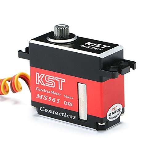 Quickbuying Hot New KST MS565 6.5KG Torque Magnetic Sensors Locked Rudder Servo For 450 500 RC Helicopter by RC accessories