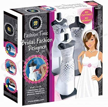 Amazon Com Amav Fashion Time Bridal Fashion Designer Craft Kit Toys Games
