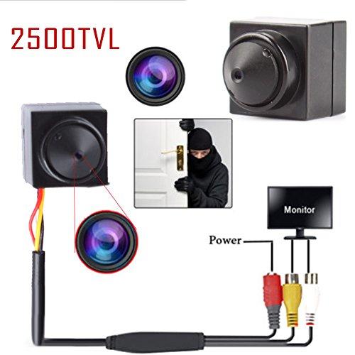 Eachbid 960P AHD Micro DVR Camera , 2500TVL CCTV Security Surveillance HD Video Audio Mini Camera P2P Small Digital Camera Pinhole Security System