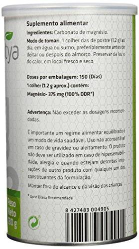 SOTYA - SOTYA Carbonato de Magnesio Bote 180 gr: Amazon.es: Salud y cuidado personal