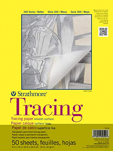 Strathmore 370-9 300 Series Tracing Pad, 9