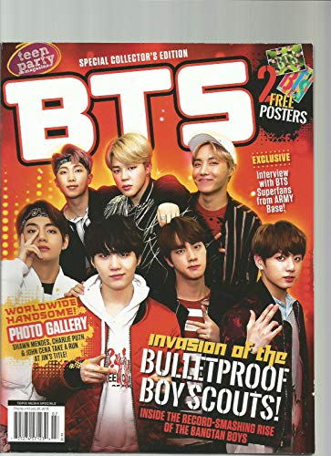 TEEN PARTY MAGAZINE SPECIAL COLLECTOR'S EDITION BTS WITH 2 FREE -