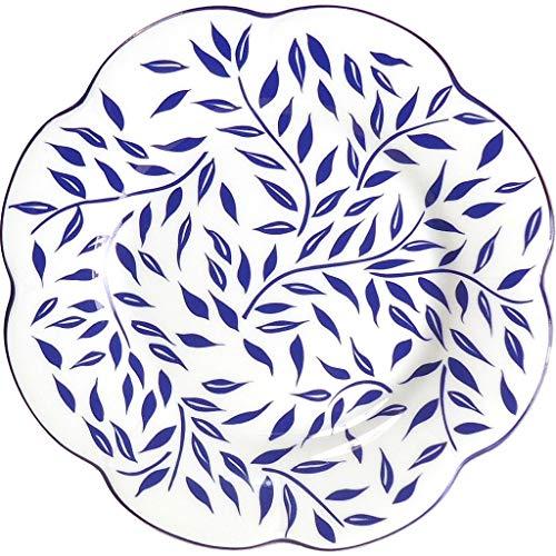 Royal Limoges Olivier Blue Dessert Plate