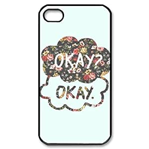 Custom High Quality WUCHAOGUI Phone case The Fault in Our Stars Protective Case For Iphone 4 4S case cover - Case-5