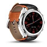BDFA Smartwatch, Soporte De Tarjeta Nano SIM, Bluetooth/GPS/WiFi, Monitor De Frecuencia Cardíaca, Podómetro, Compatible con iOS Y Android, Asistente De Google