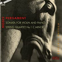 Pergament: Violin Sonata in B Minor & String Quartet No. 1