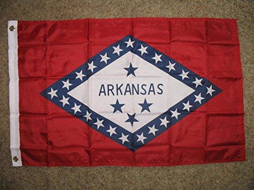 - Arkansas Flag Super Poly 2X3 Flag Banner