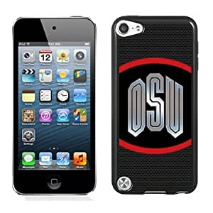Fashionable And Unique Designed With Ncaa Big Ten Conference Football Ohio State Buckeyes 26 Protective Cell Phone Hardshell Cover Case For iPod 5 Phone Case Black