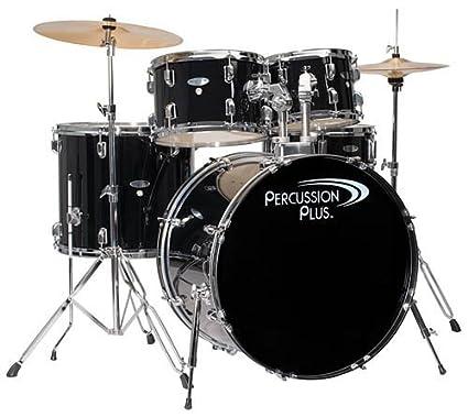 f8c0b6e6e8ce Amazon.com  Percussion Plus PP4100BK 5-Piece Drum Set