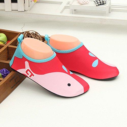 Sport de D'eau Water et Chaussures Eagsouni Plage Aquatique 9rouge Shoes Piscine Chaussure Chausson WAwOF