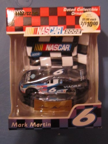 Nascar 2002 Mark Martin #6 Collectible - Merchandise Mark Martin