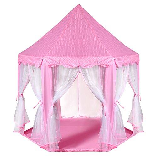 ODOLAND Princess Castle Tent Playhouse