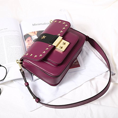 Small Purple Coréen à Retro Package Main KYOKIM Sacs Square XvwTqxHw7n