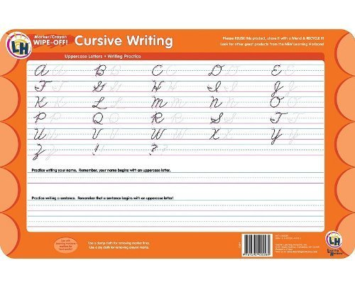 (Cursive Writing Wipe Off Activity Mat by Learning Horizons (2009-05-04))