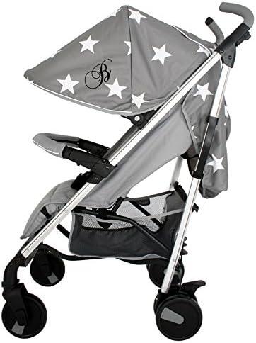 My Babiie Samantha Faiers MB51 Blue Chevron Stroller