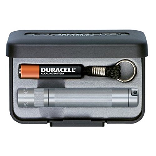 Mag-Lite Solitaire Flashlight Gift Box, Grey