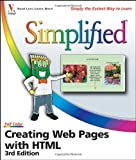 Creating Web Pages with HTML Simplified, Sherry Willard Kinkoph, 0471786470